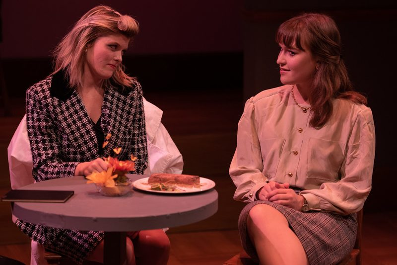 A scene from the Theater and Dance Department's production of The Heidi Chronicles