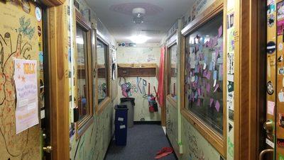A Peek Into the KRLX Hallway