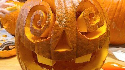 Swirly-Eyed Pumpkin