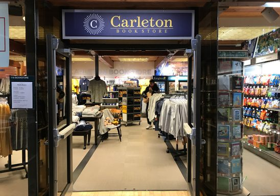 Welcome to the Carleton Bookstore
