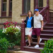 Alison Byerly and Steve Jensen at Nutting House