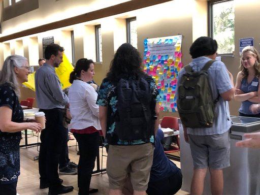 Providing input at the CEDI ice cream social