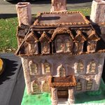 Replica of Willis Hall created by Bon Appétit Pastry Chef Richard Hays.