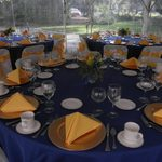 Guest seating at the President's Inaugural Dinner.