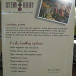 Training for Stem to Root.