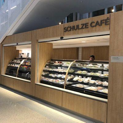 Schulze Café in Anderson Hall
