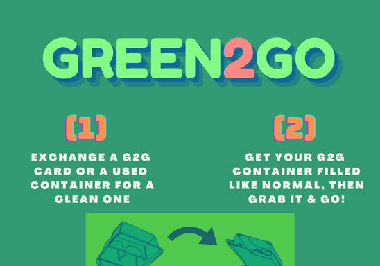 Using Green2Go Containers