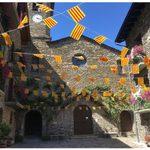 Catalan Flags captured by Hannah Rittman '20