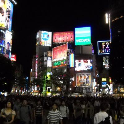 Nightlife in Shibuya, Tokyo
