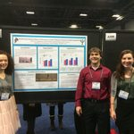 Gracie, Tanner, and Sophie at SfN 2014.