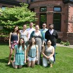 Spring 2014 members of the Language and Cognition Lab
