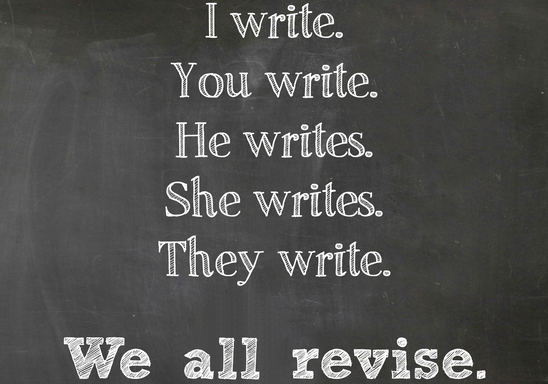 We all revise