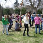 Maypole Celebration at UU Service on May 5, 2013