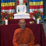 Meditation at Buddhist Vesak Celebration