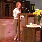 Senior Service Speaker: Kayla McKinsey