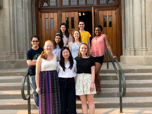 Student Chaplain's Associates, Spring Term 2018-2019