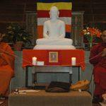 Chanting by Sri Lankan Monks