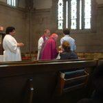 Catholic Mass on March 9, 2008 led by Archbishop Harry Flynn.