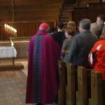 Archbishop at Catholic Mass on March 9, 2008