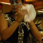 Aztec Dancer at Day of the Dead Celebration