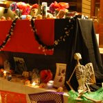 Altar at Day of the Dead Celebration