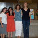 Seniors at the Senior Chapel Service on May 24, 2009