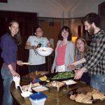 Chaplain's Associates at dinner following the Senior Service, 2011