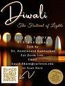 Diwali Celebration- November 14, 2020