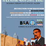 Black Hisotry Month Chapel Service Poster