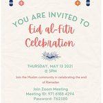 Eid Celebration on May 13, 2021