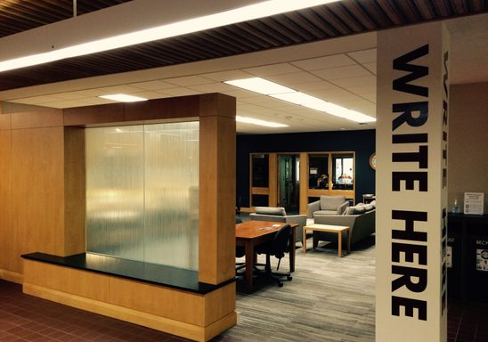 The Writing Center: 4th Libe