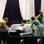 Devised Theater rehearsal