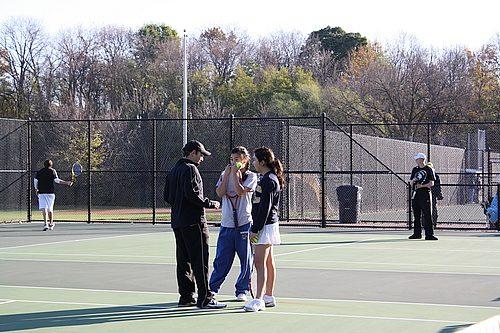 Club Tennis at Practice