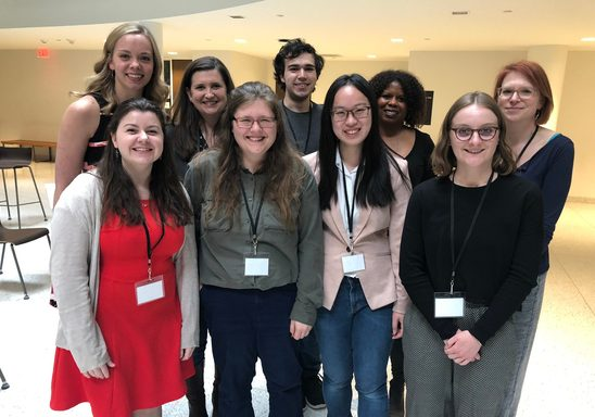 Carleton Linguistics Students at MULS 2019