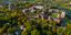 Aerial view of the Carleton College campus