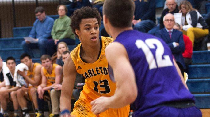 Carleton basketball driving