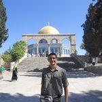 Owen Solis '17 at al-Aqsa Mosque