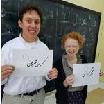 Seth Harris '18 and Gray Babbs '18 in Oman