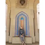 Grace Babbs '18 in Oman