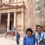 Zayn Saifullah '17 & Owen Solis '17 in Petra, Jordan