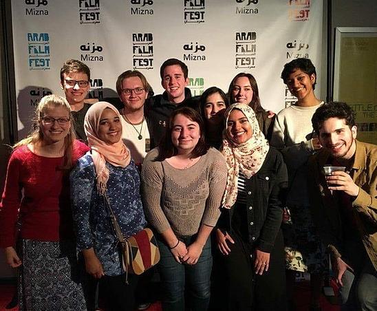 At the Arab Film Fest, Minneapolis, 2017