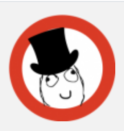 cartoon of a person for a badge design