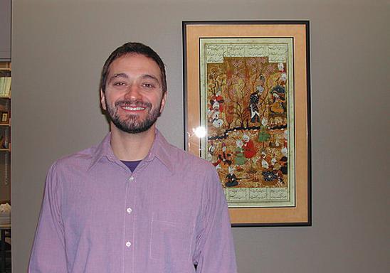 Zaki Haidar, lecturer in Arabic