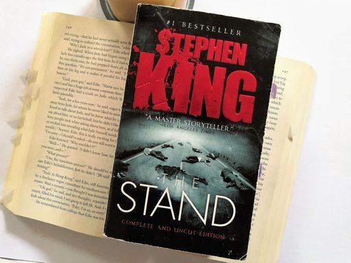 book cover of Stephen King's novel