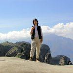Nancy at Meteora