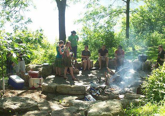 Classics picnic at Council Ring.