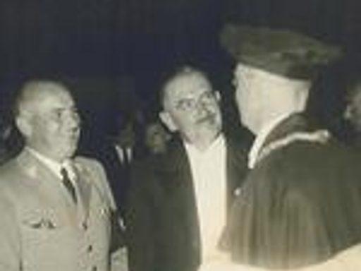 Dean Blayney in Heidelberg, 1936