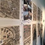 Students' map projects from the Rome OCS program.
