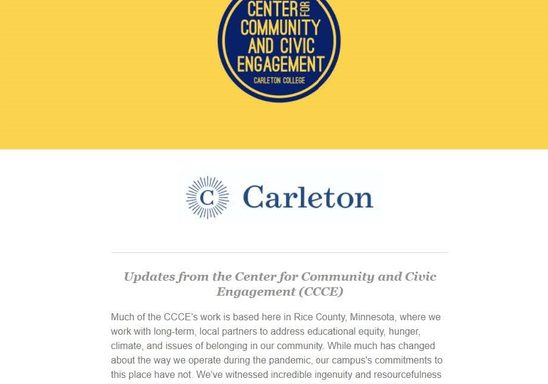CCCE Fall Newsletter