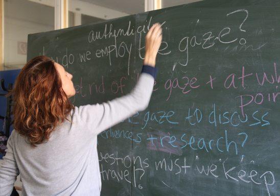 Iveta Jusova, director of WGSE Program